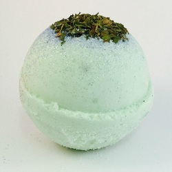 Cool Mint Exotic Bath Bombs
