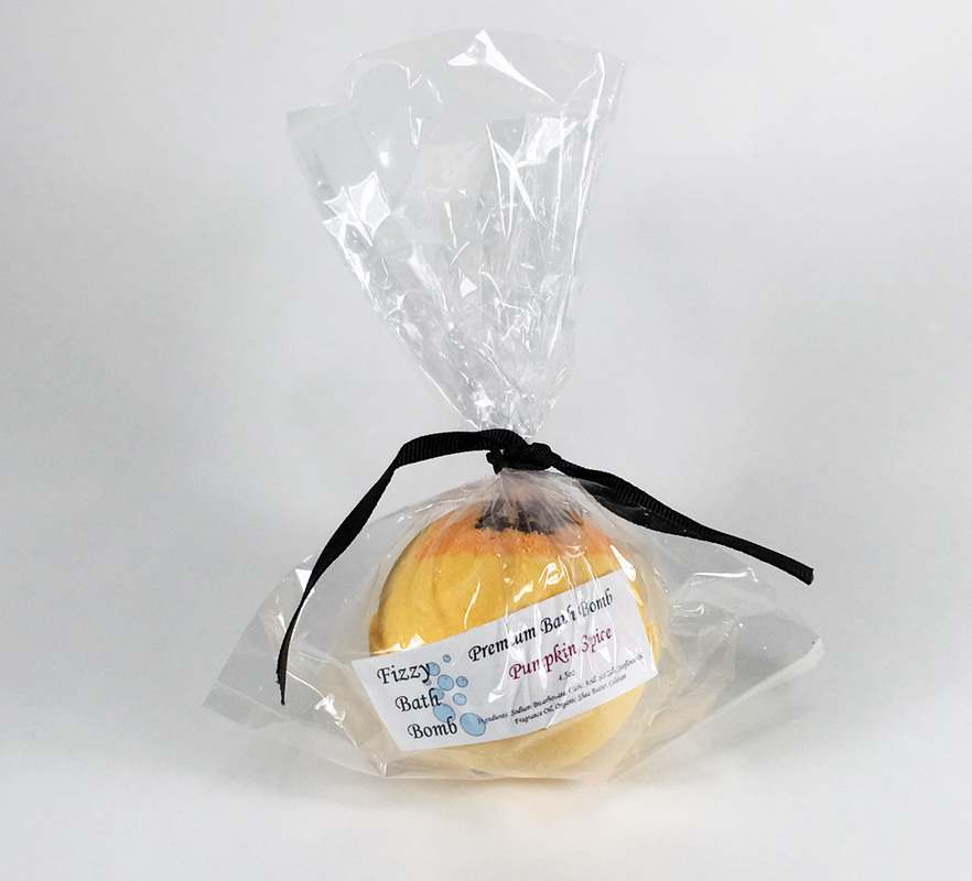 Cellophane Wholesale Bath Bombs